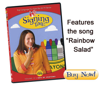 Box of Crayons DVD teaches signs for colors and more!