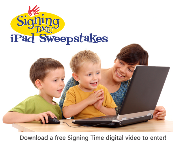 Signing Time On Demand Sweepstakes