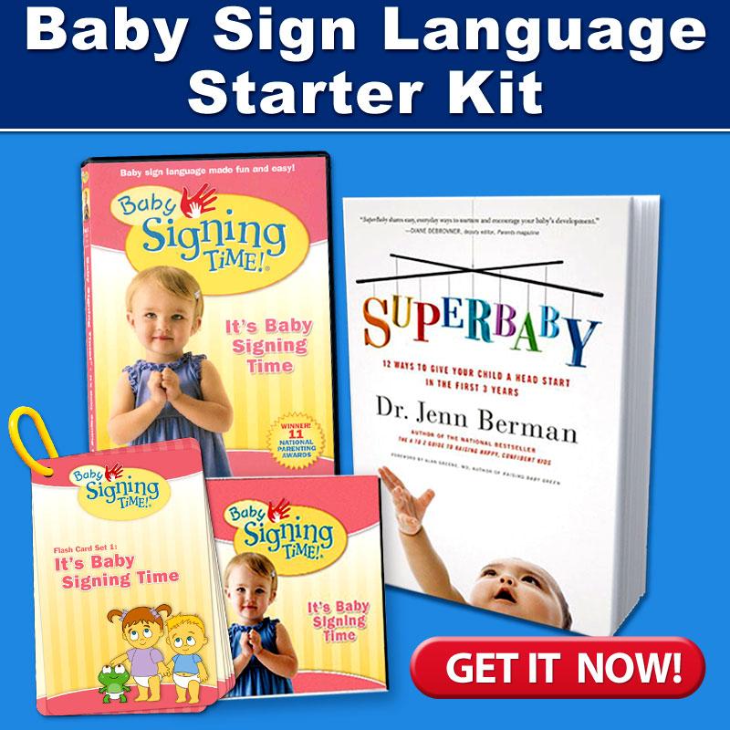 SuperBaby Bundle at SigningTime.com