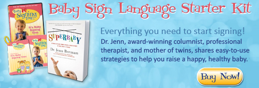 Baby Sign Language Starter Kit with SuperBaby Book