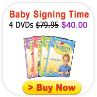 Baby Signing Time DVDs
