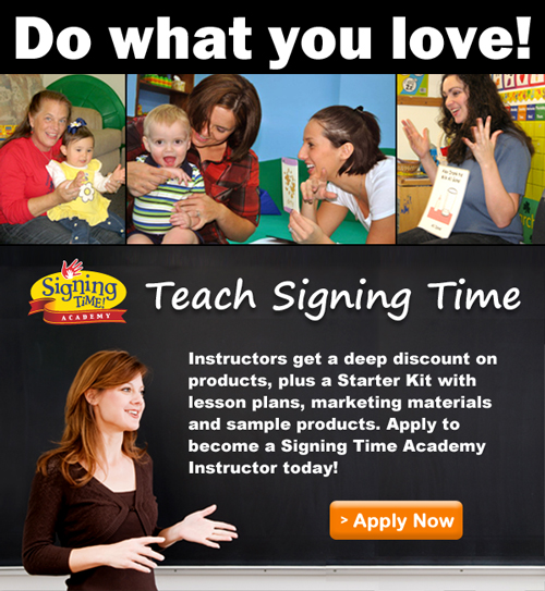 Become a Signing Time Academy Instructor!